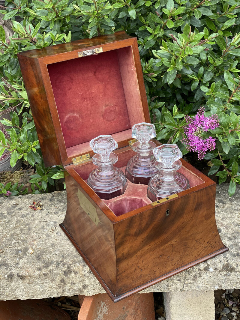 Early 19c Decanter Box