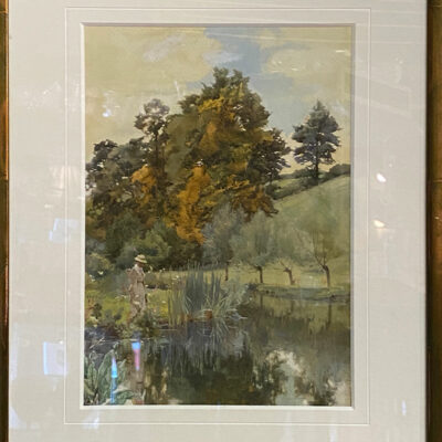 Original Watercolour by Alfred Parsons RA