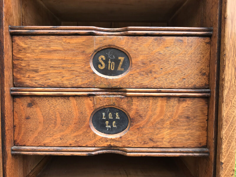 1920's Amberg's Filing Cabinet £1,850