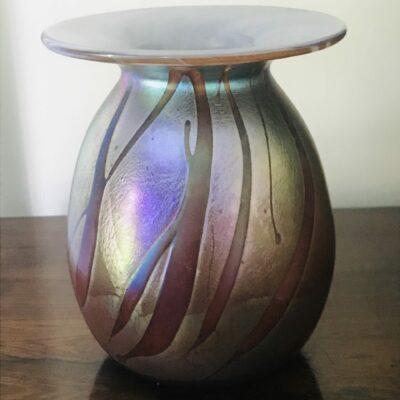 Mid 20c Studio Art Glass Vase
