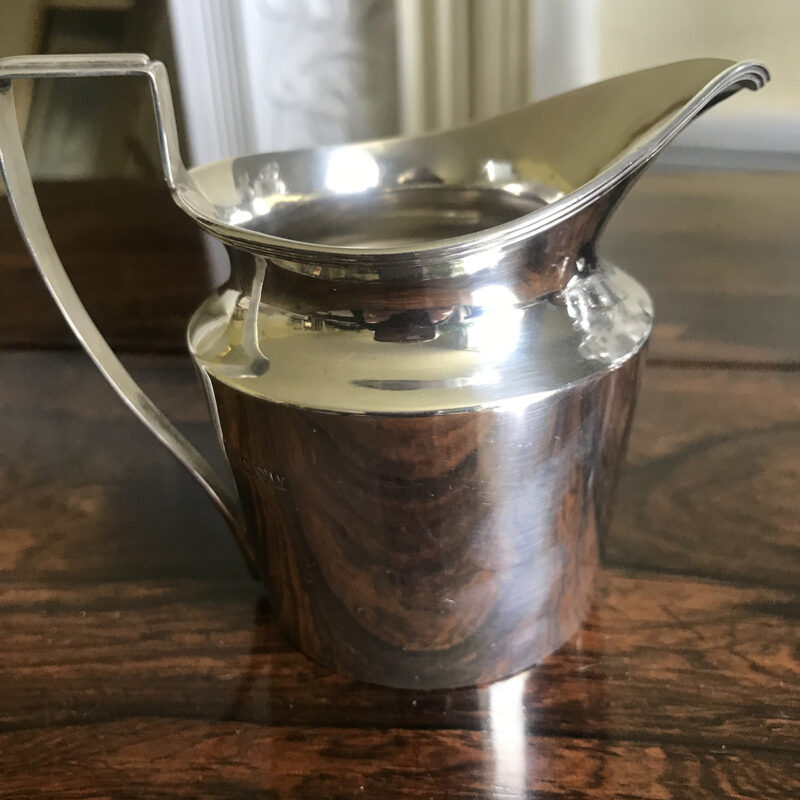 Solid Silver Cream Jug - Chester 1913