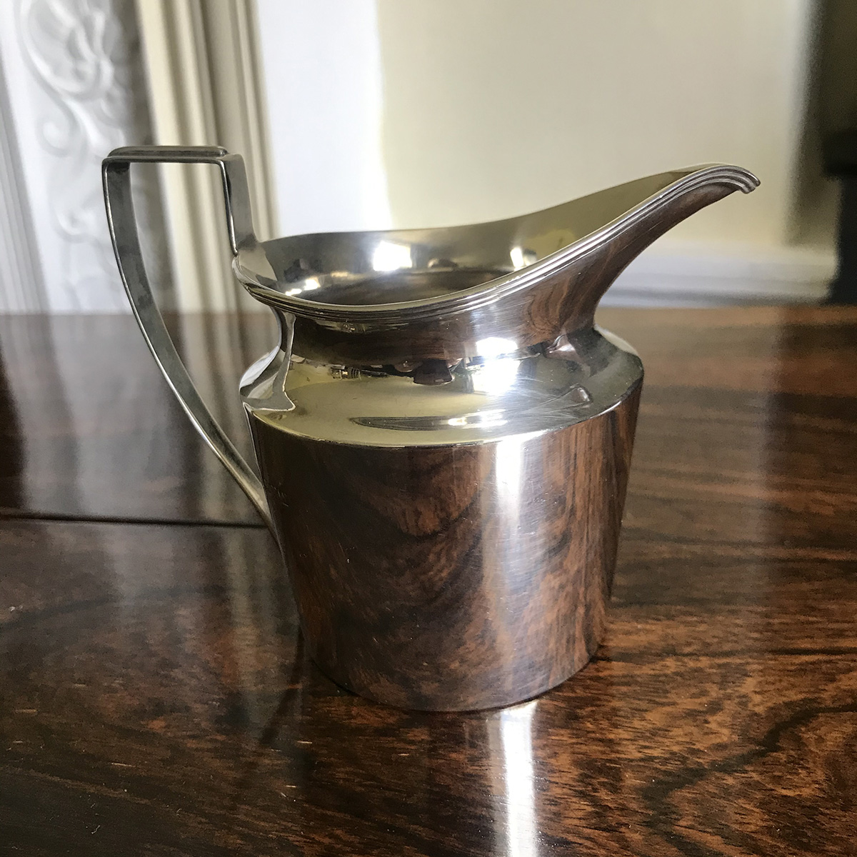 Solid Silver Cream Jug - Chester 1913