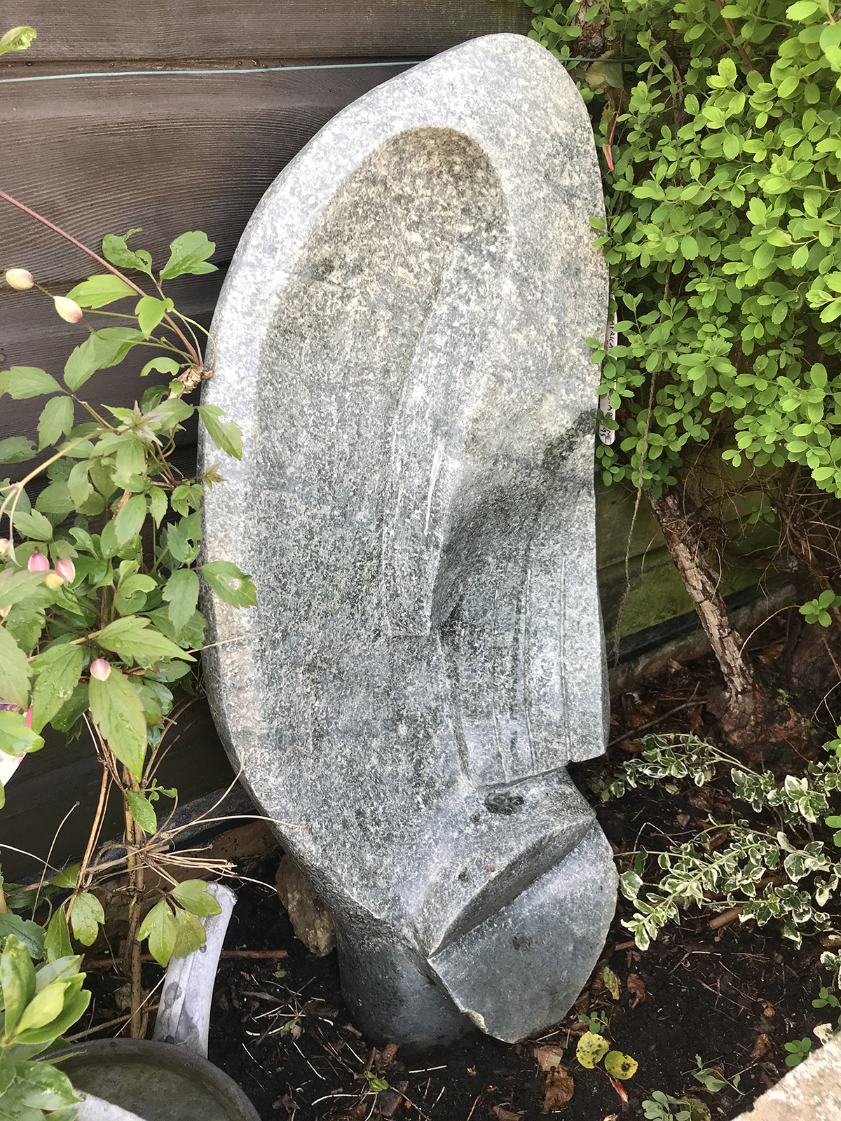 African Carved Soapstone Sculpture
