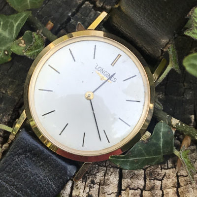 Classic Vintage Gents Gold Longines Watch