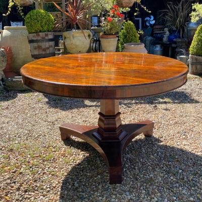 William IV Rosewood Breakfast Table