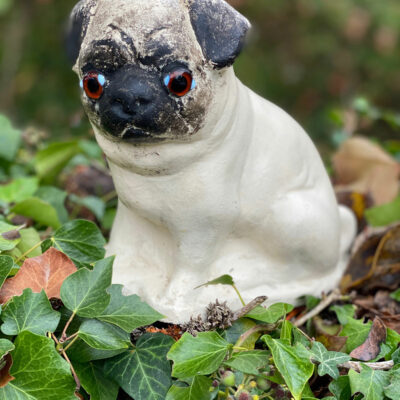 Victorian Cast Iron Pug