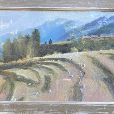 Original Pastel Painting by Shan Egerton