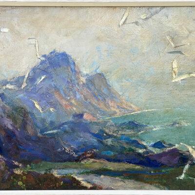 Original Oil Painting by Charles Rebel Stanton