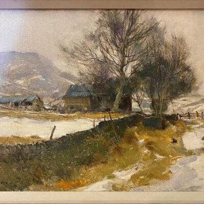 Original Oil Painting by David Curtis ROI, RSMA