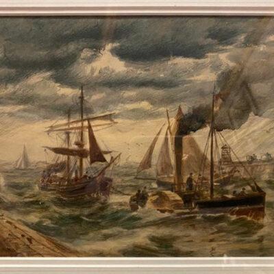 Original Watercolour by Thomas Bush Hardy