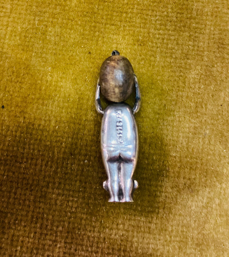 WWI Silver Charm 'Fumsup' (Rare)