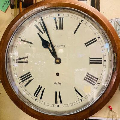 Wall Clock by R. C. Watts 'Bath'