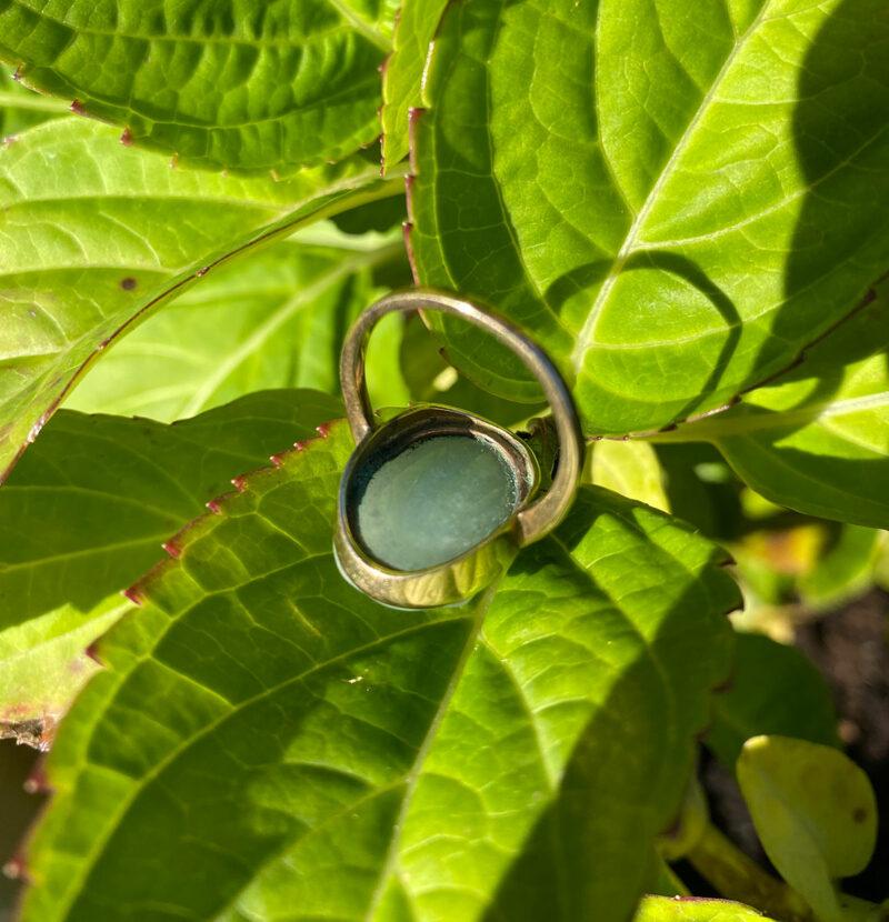 9ct Gold & Jade Ring