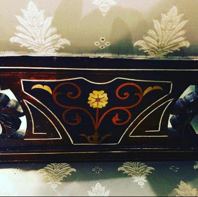 Edwardian Inlaid Salon Chair