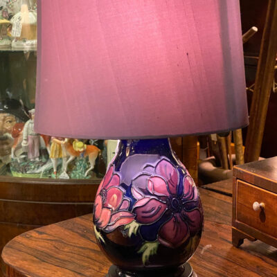 Moorcroft Candlestick Table Lamp