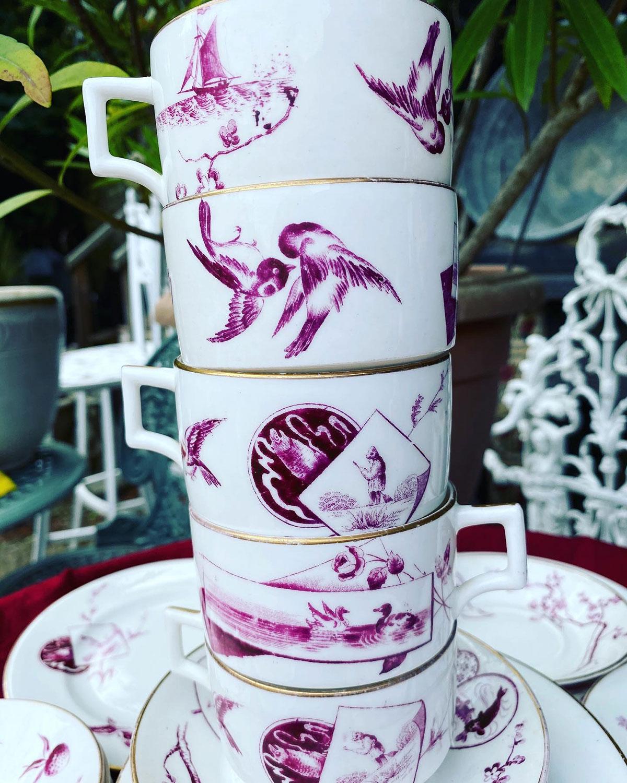 Paragon 6 Place Setting Porcelain Tea Set
