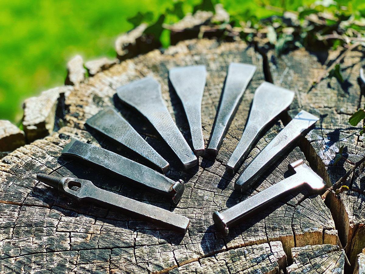 Set of 9 Antique Tailoring Tools