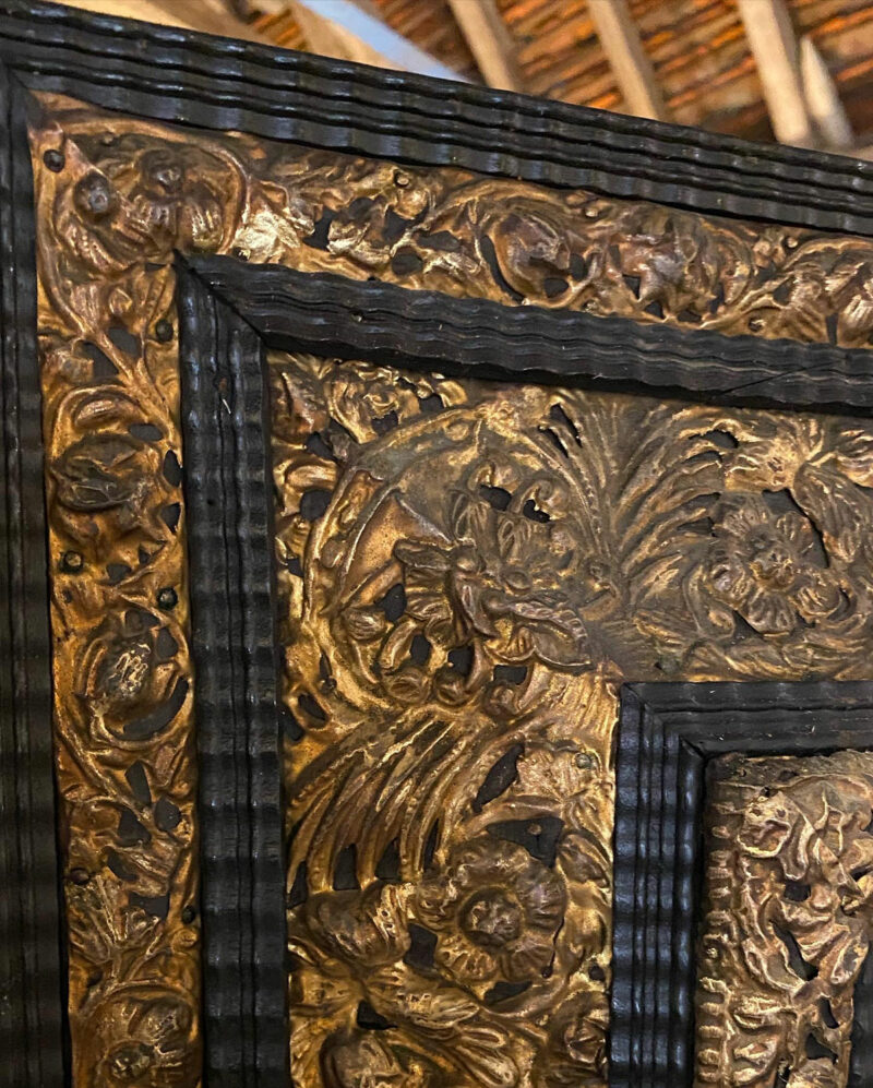 Victorian Bevelled Cushion Mirror