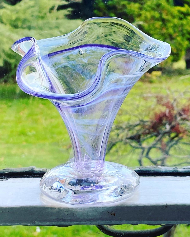 Amethyst Glass Vase