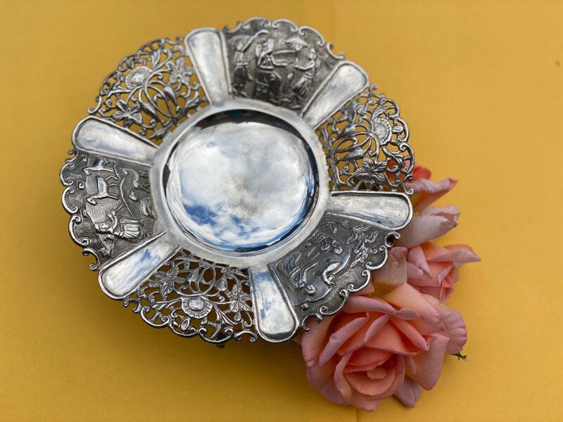 Solid Silver Taza