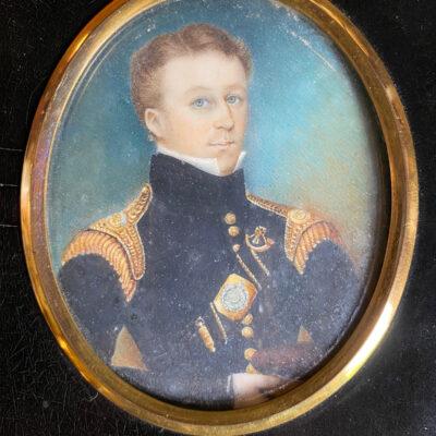 Miniature Painting - Naval Gentleman