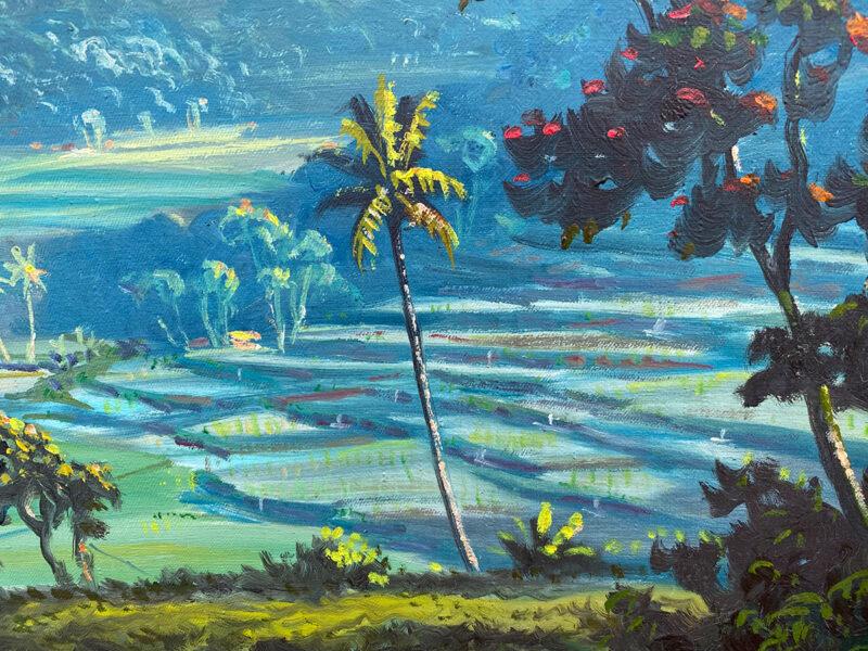 Original Oil Painting by G. A. Kadir